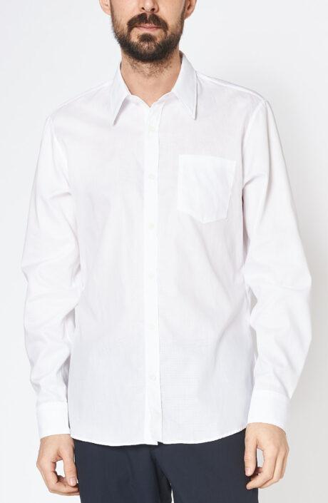 """Weißes Hemd """"Corbino"""" mit klassischem Kragen"""