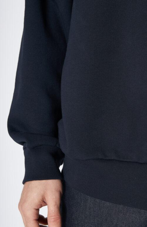 """Sweater """"Haxti"""" in Navy mit Rundhalsausschnitt"""