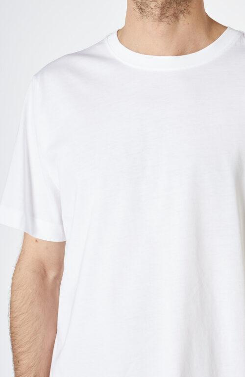 """Weißes T-Shirt """"Heeb"""" mit Rundhalsausschnitt"""