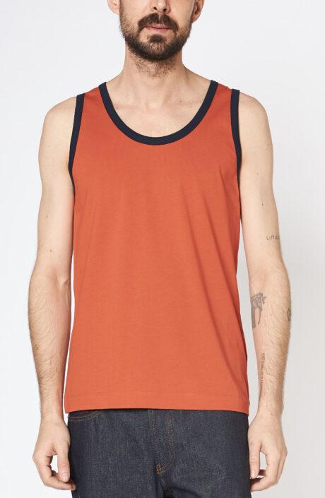 "Orangefarbenes Tanktop ""Helio"""