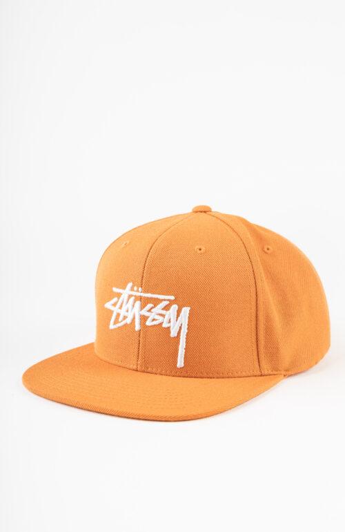 Stock Logo Baseball Cap in orange