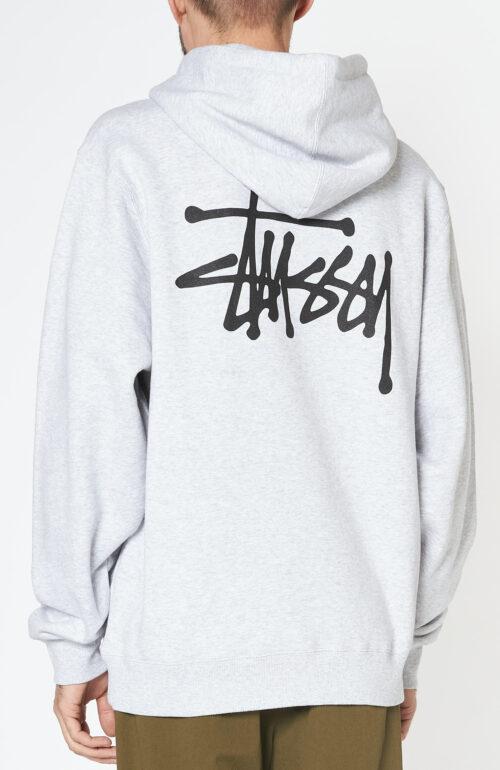 """Grau-melierter """"Basic"""" Hoodie Sweater"""
