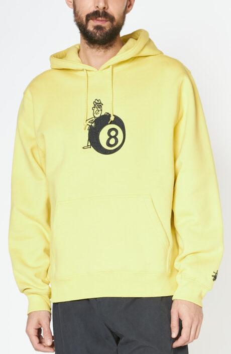 """Gelber """"8ball"""" Kapuzen Sweatshirt"""