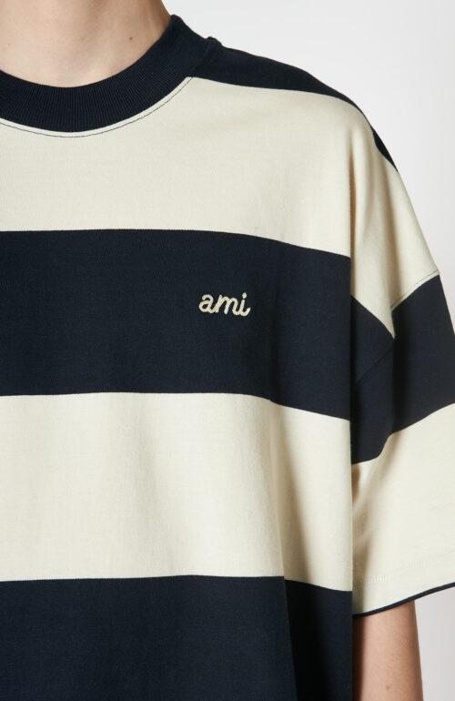 "Blau-weiß gestreiftes T-Shirt ""Rugby"""