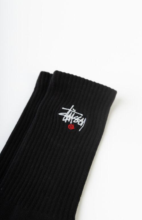 """Schwarze """"Basic Logo Crew"""" Socken"""