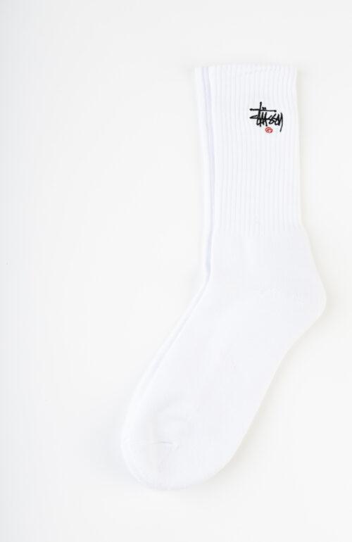 """Weiße """"Basic Logo Crew"""" Socken"""