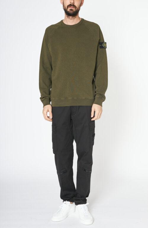 "Olivfarbener Sweater ""66060"""