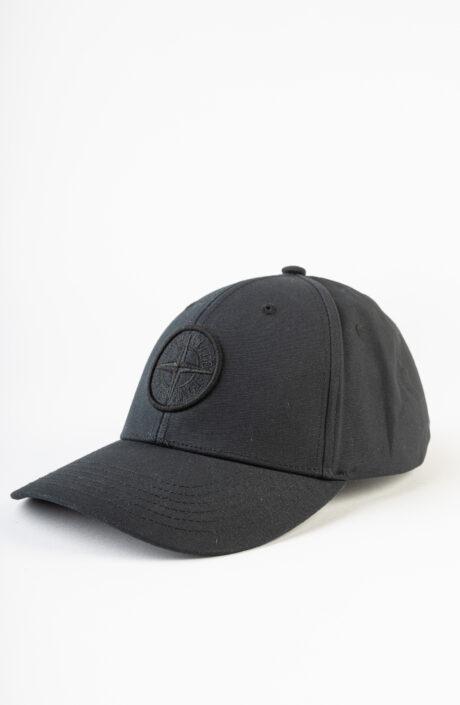 Schwarze Baseball Cap mit Logo