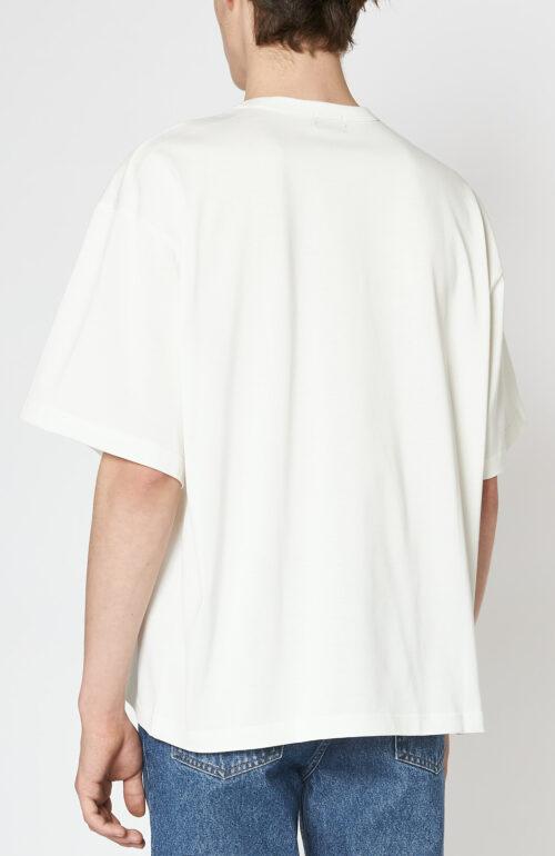"""Weißes T-Shirt mit """"Kolor""""-Print"""