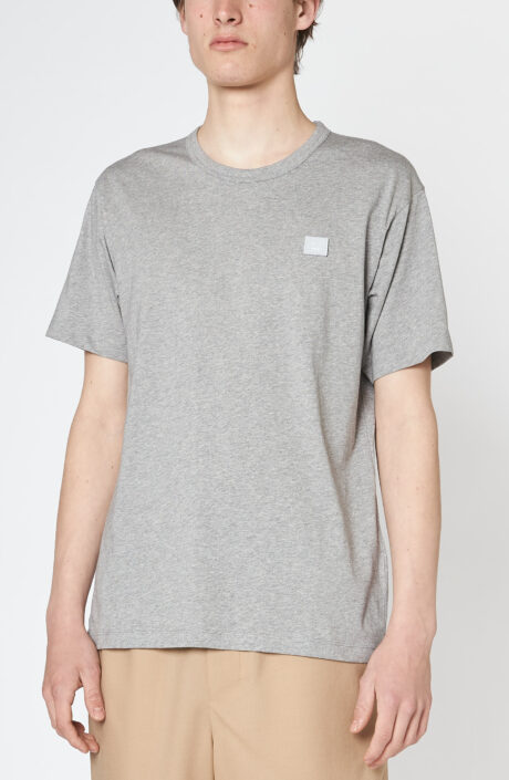 "Graues T-Shirt ""Nash Face"""