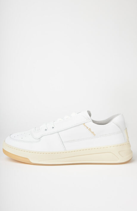 """Weiße Sneaker """"Perey"""" aus Leder"""