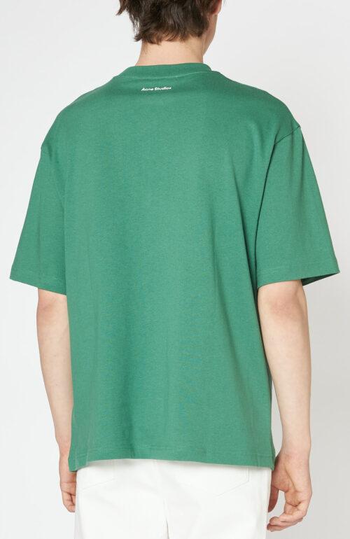 "Grünes T-Shirt ""Extorr Bar"" mit Print"
