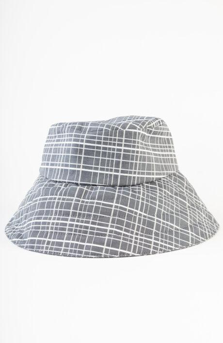 "Grauer Bucket Hat ""Verona"""