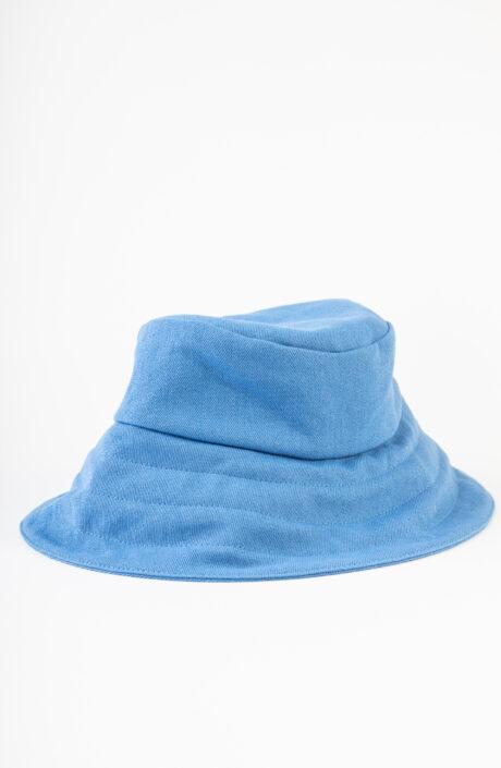 "Azurblauer Bucket Hat ""Verona"""