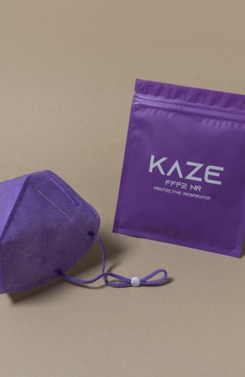 Kaze Maske lila ffp2