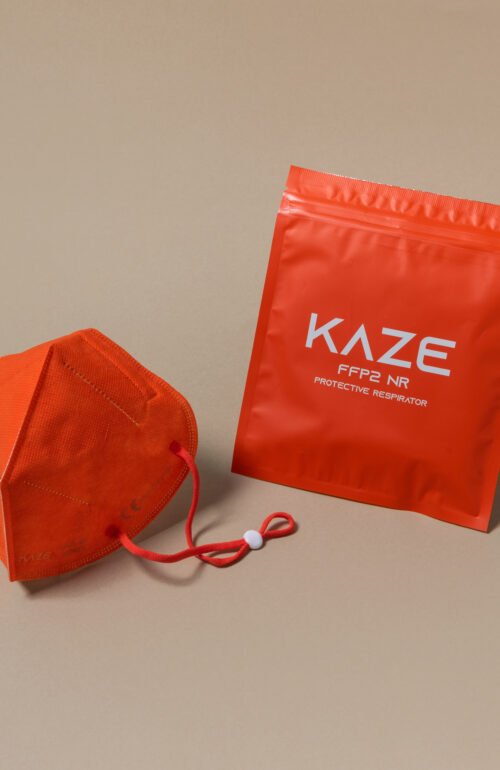Kaze Maske Character orange ffp2