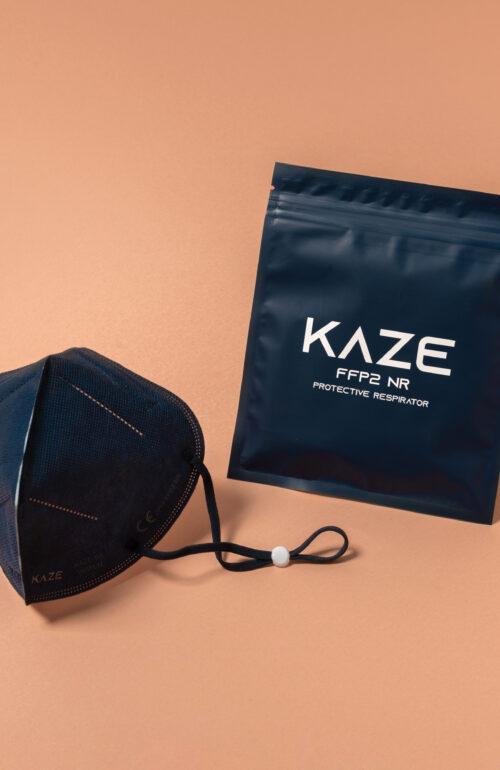 Kaze Maske Character dunkelblau