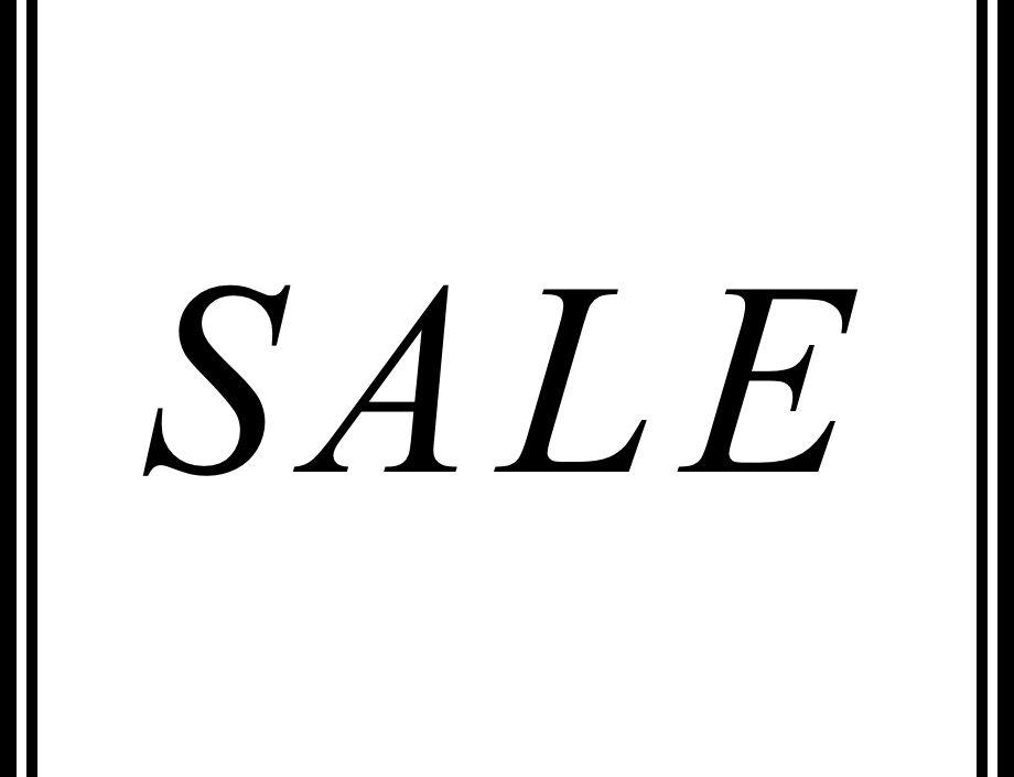 Schwittenberg Sale