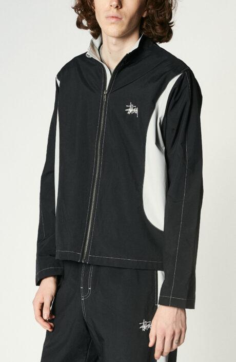 """Schwarze Trainingsjacke """"Panel Track Jacket"""""""