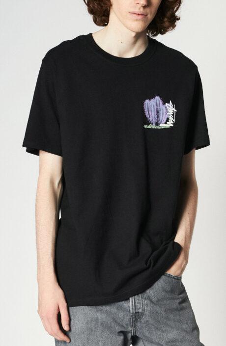 """Schwazes T-Shirt mit Print """"Desert Bloom"""""""