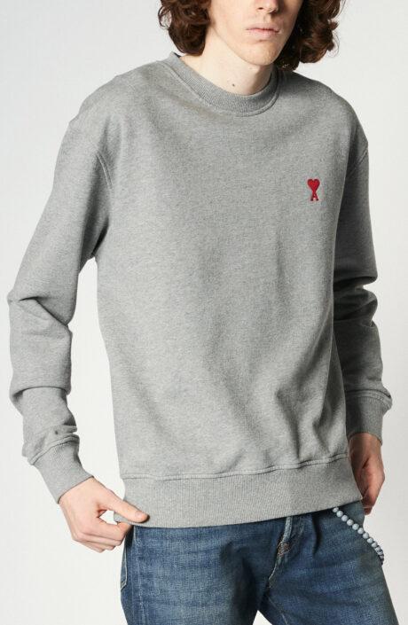 """Hellgrauer Sweater mit """"Ami de Coeur""""-Logo"""