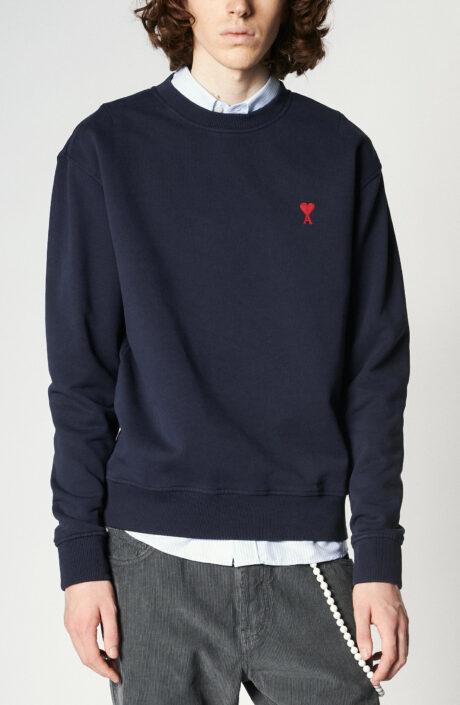 """Dunkelblauer Sweater mit """"Ami de Coeur""""-Logo"""