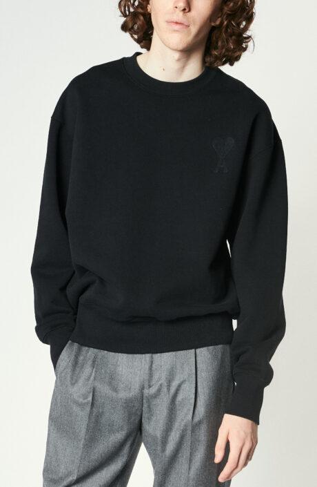 "Schwarzer ""Ami de Coeur"" Sweater"