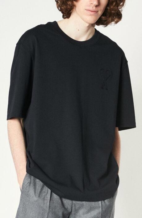 "Schwarzes T-Shirt ""Ami de Coeur"""