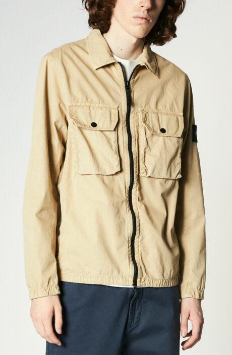 "Overshirt ""113wn"" in beige"