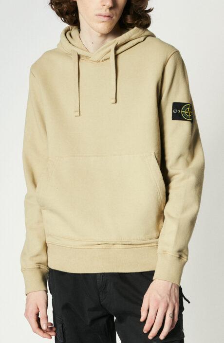 Stone Island Hoodie Sweater beige