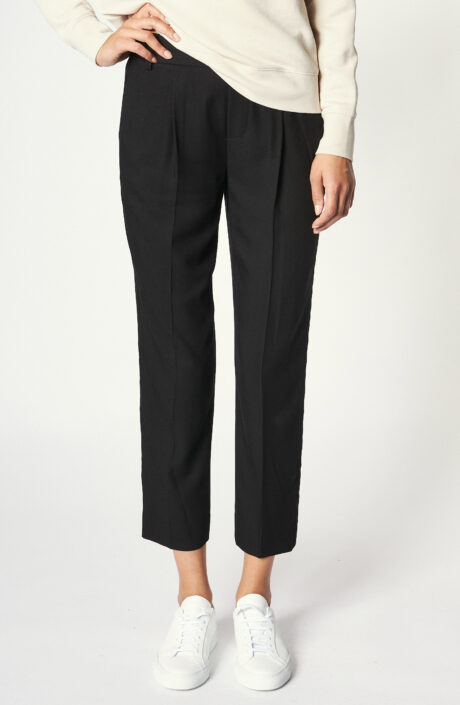 """Hose """"Casual Pull on pant"""" in Schwarz"""