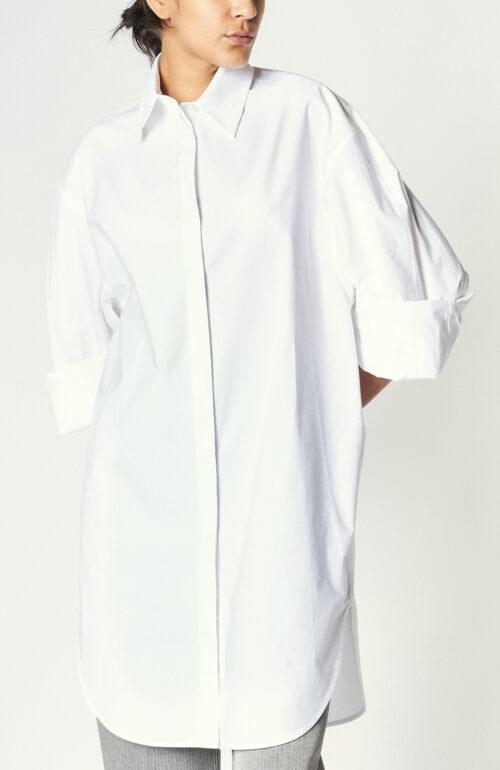 """Weißes Hemdblusenkleid """"Dempsey"""""""