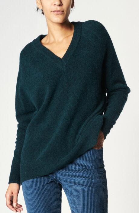 """Pullover """"Koneta"""" in Flaschengrün"""