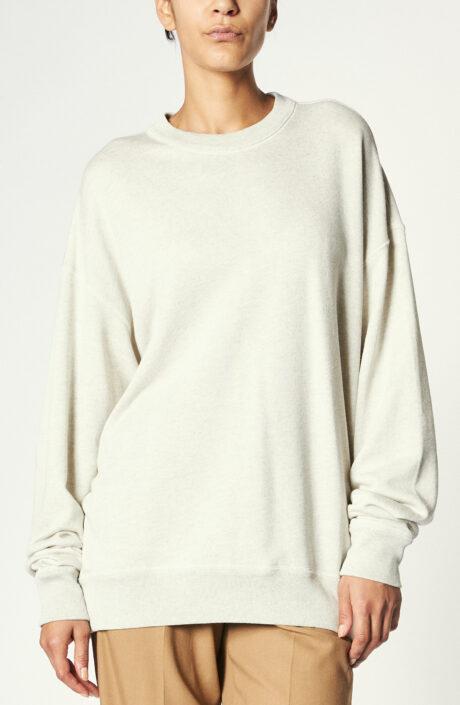 """Sweatshirt """"Mindyae"""" in Ecru"""