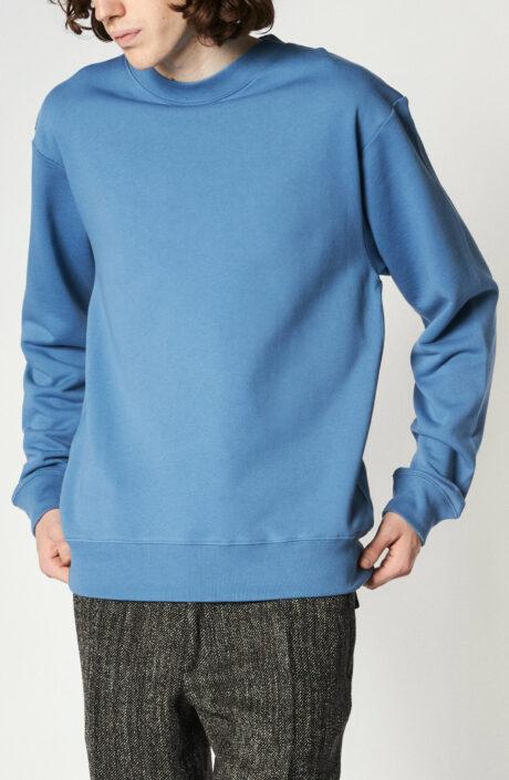 """Blauer Sweater """"Haffel"""""""