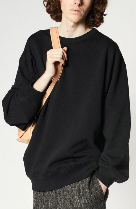"""Schwarzer Oversize-Sweater """"Hax"""""""