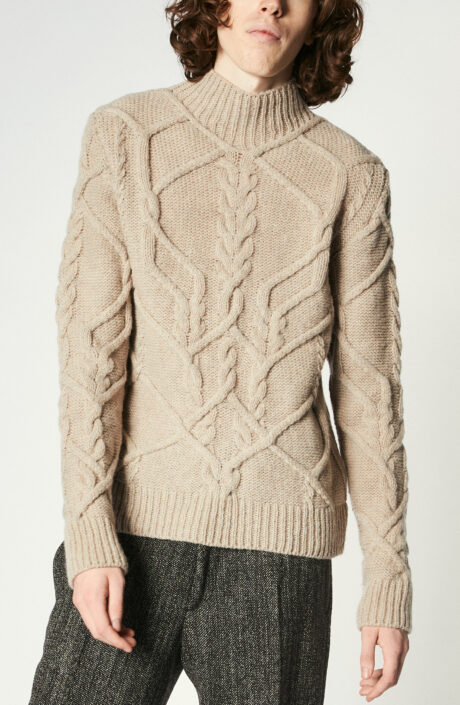"""Pullover """"Tibeau"""" in Natural"""