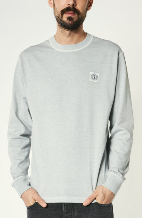 "Hellgraues Langarm T-Shirt ""21482"""