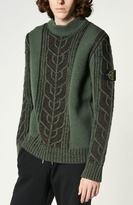 """Dunkelgrüner Pullover """"569D4"""""""