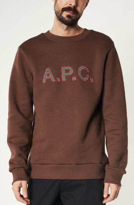 """Sweater """"Hugues"""" in Braun"""