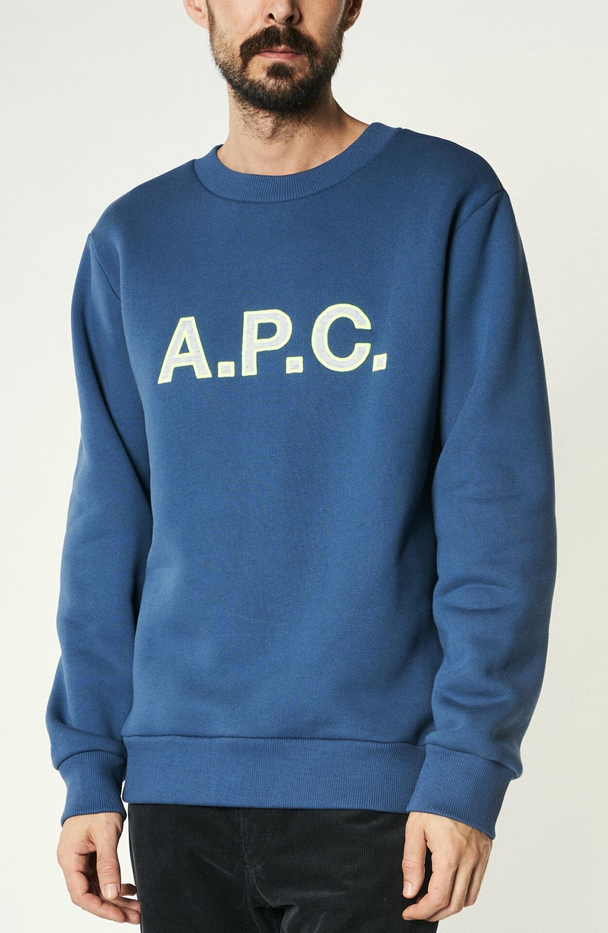 """Sweater """"Hugues"""" in Blau"""