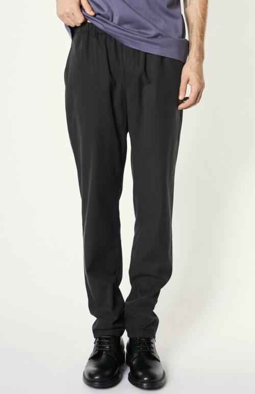 Hose Elasticated Trouser washed black