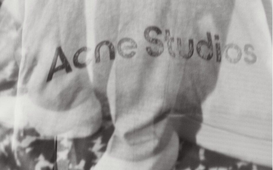 acne studios fw2021