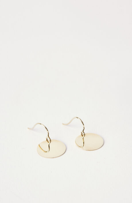 """Ohrring """"Paillettes Earrings No 3"""" in Gold"""