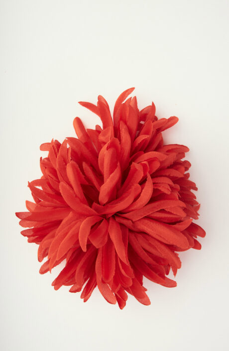"""Brosche """"Anemone Parco Virgiliano"""" in Rot"""