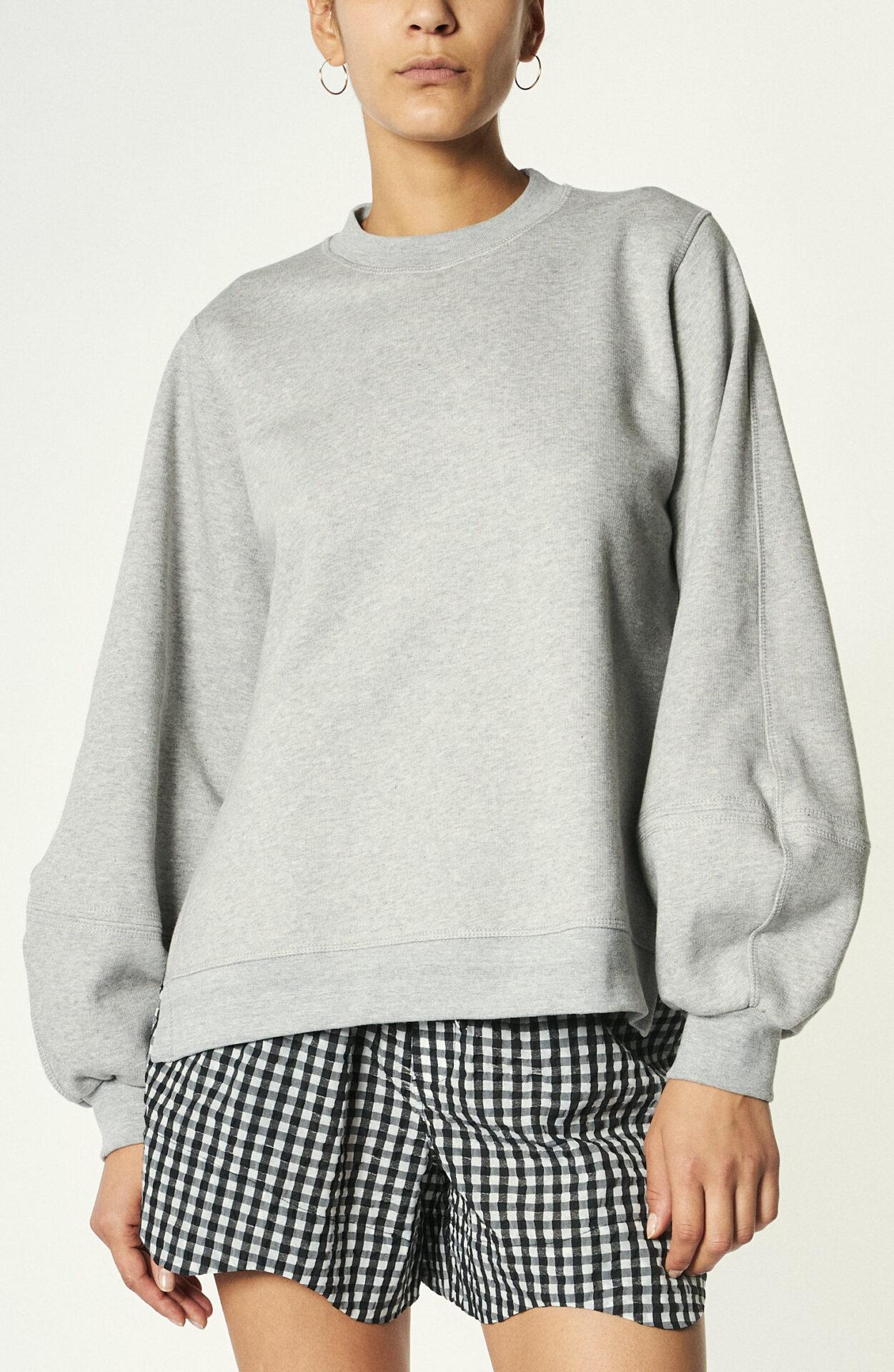 """Grauer Sweater """"Isoli"""" aus Baumwollmix"""