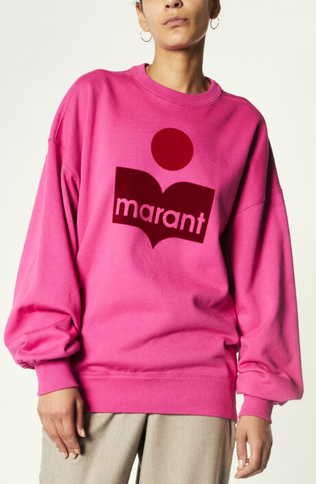 """Sweater """"Mindy"""" in Neon Pink"""