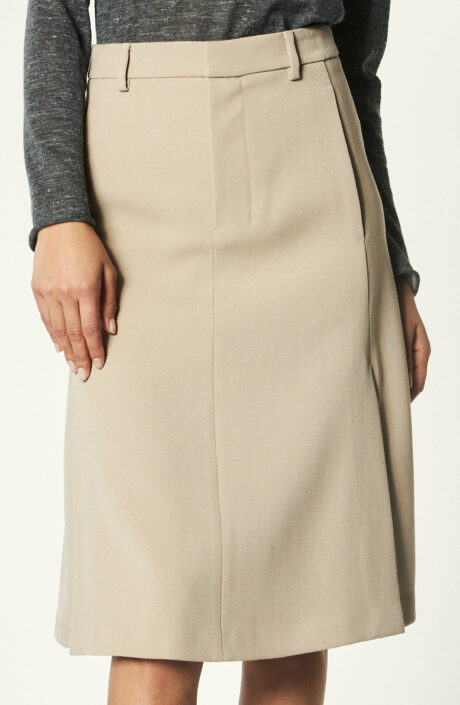"""Rock """"A-Line Skirt"""" in Champagner"""