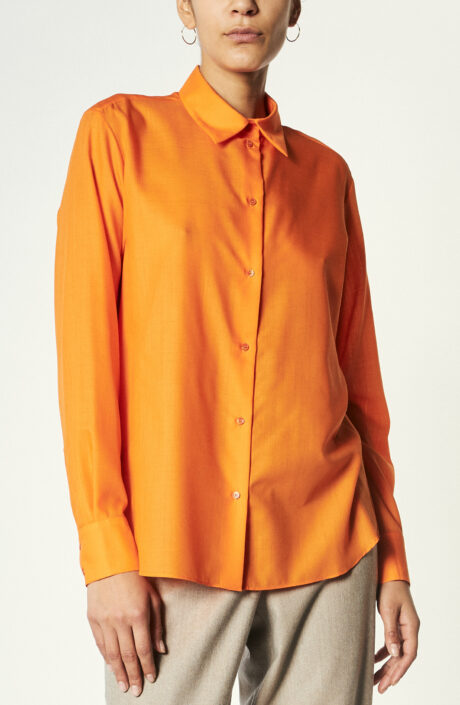 "Hemd ""Curry Vert"" in Orange"