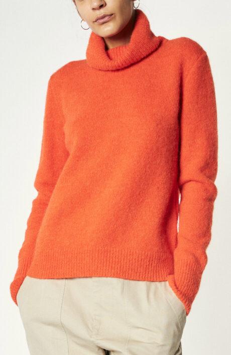 "Rollkragenpullover ""Sumac"" in Orange"